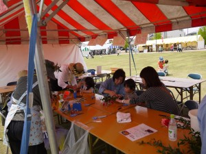 他のボランティアさんや来場者の皆さんとのふれあいは、いつもの活動とは違う楽しさがありました。