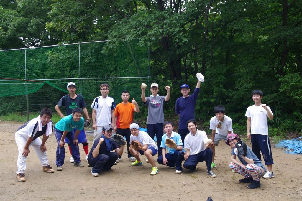 ソフトボール集合写真